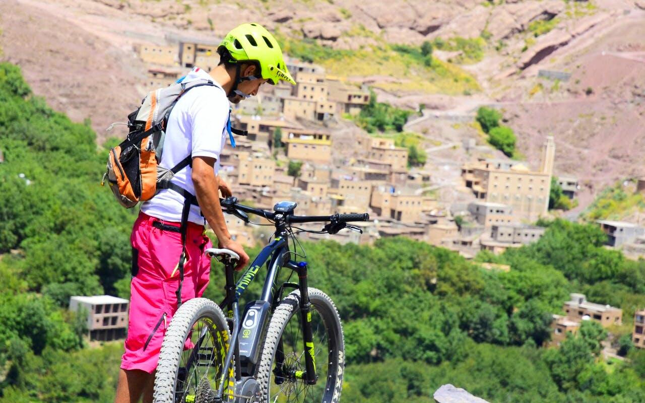 Morocco electric mountain bike tour of the Atlas Mountains
