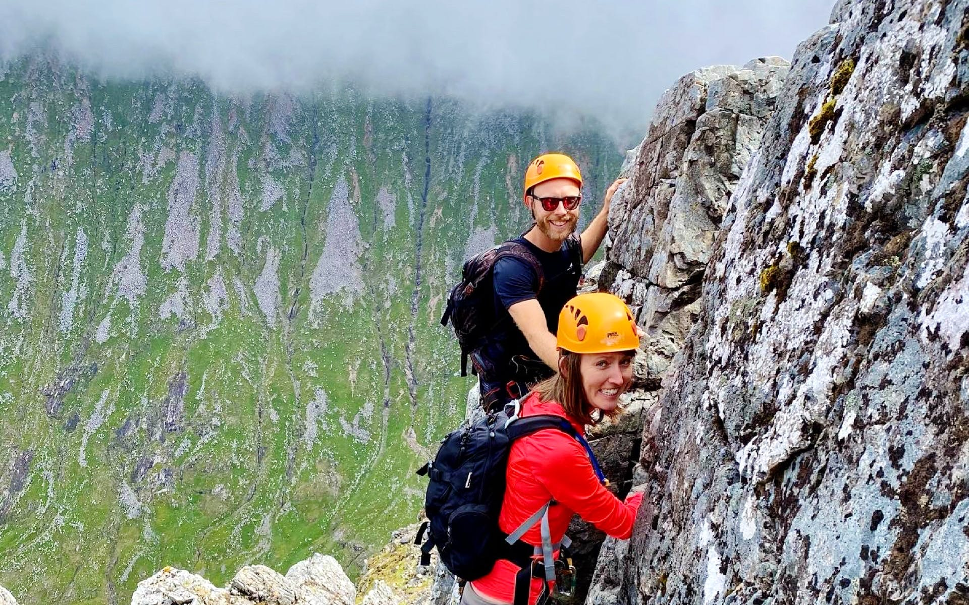 Beginners Climbing in Scotland