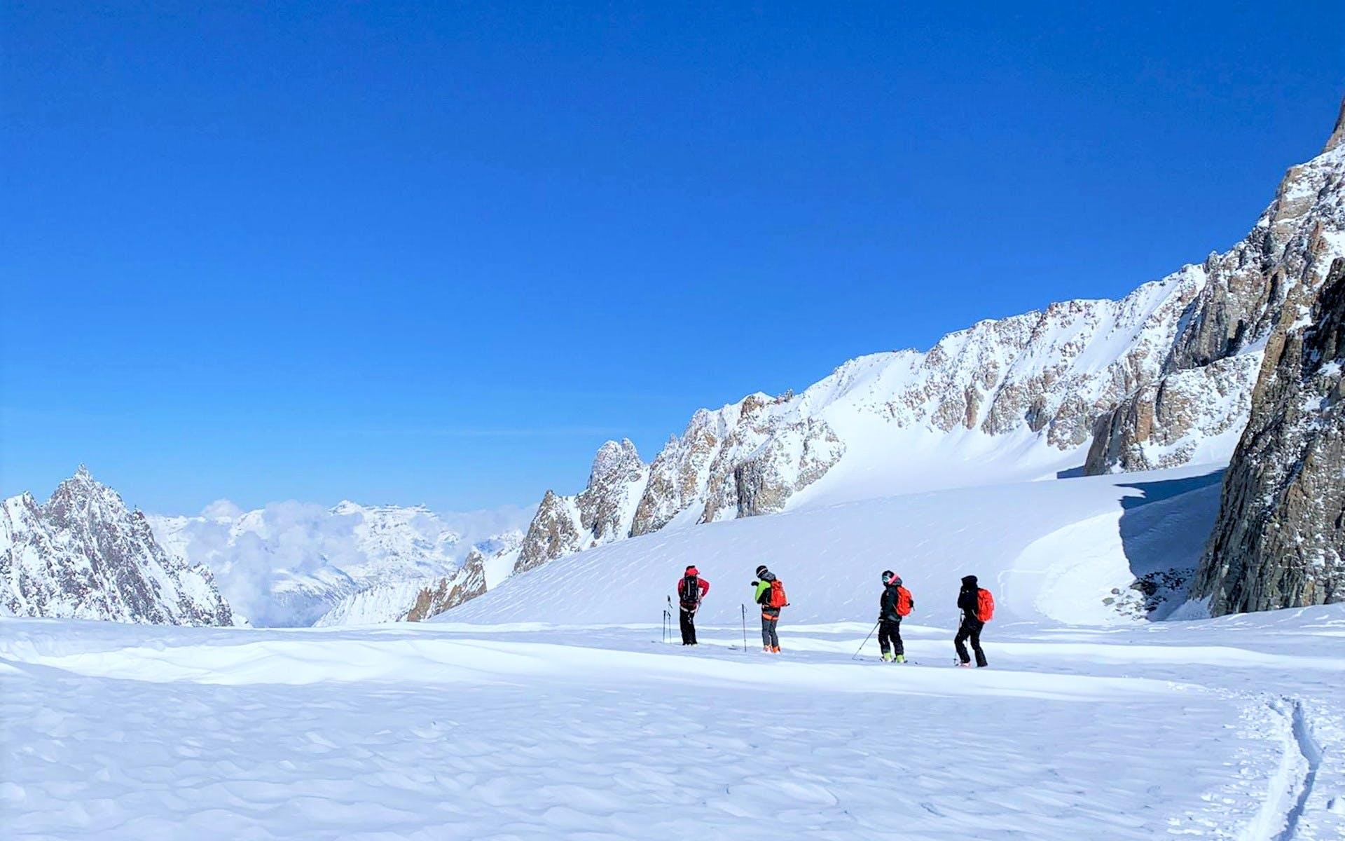 Beginner Ski Touring