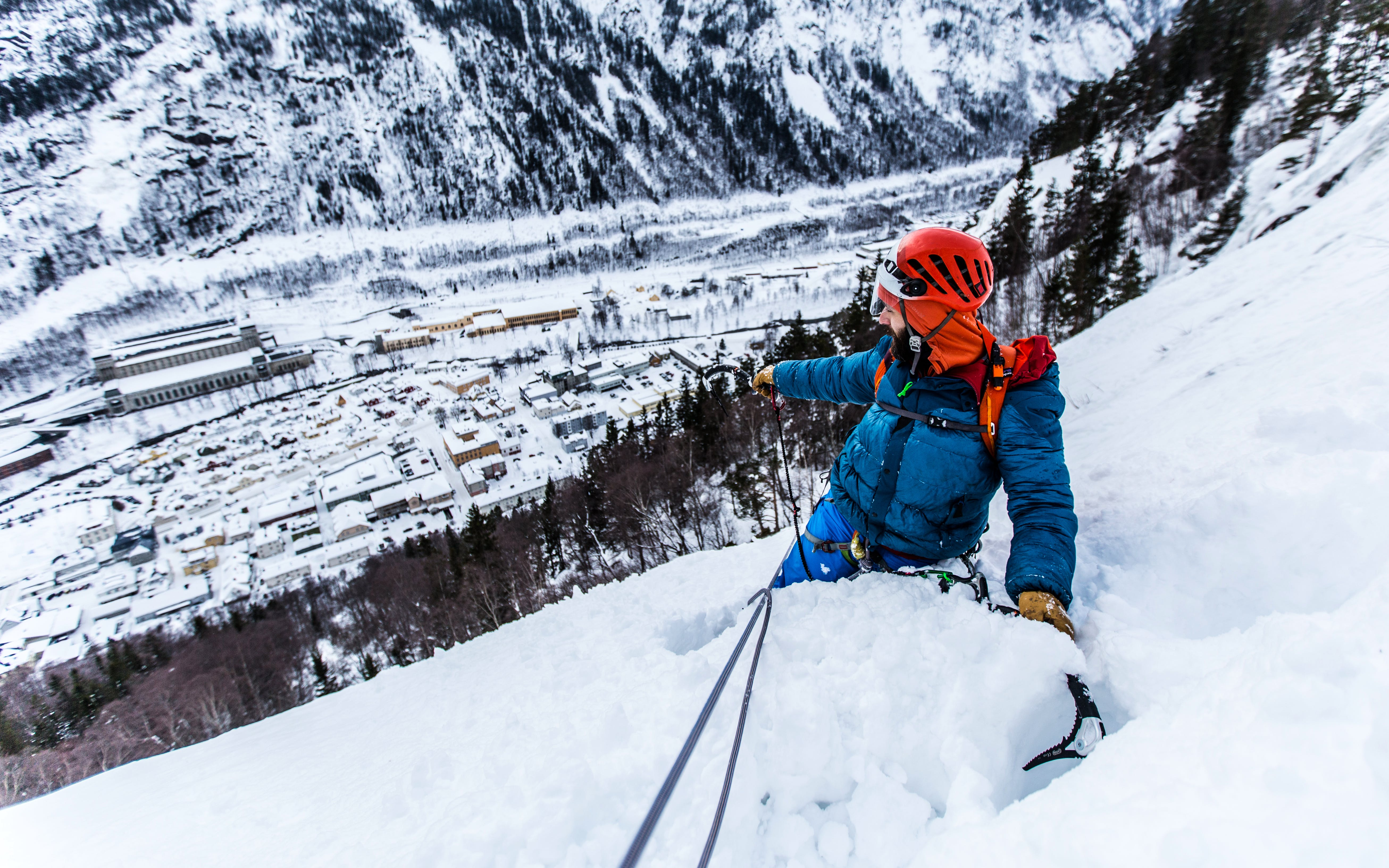 Advanced Ice Climbing
