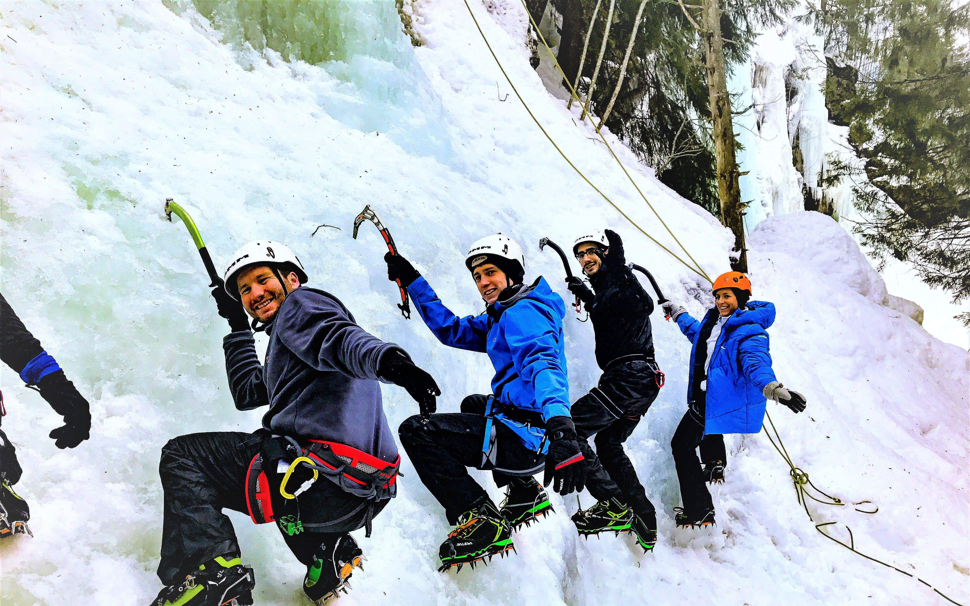 Beginners Ice Climbing