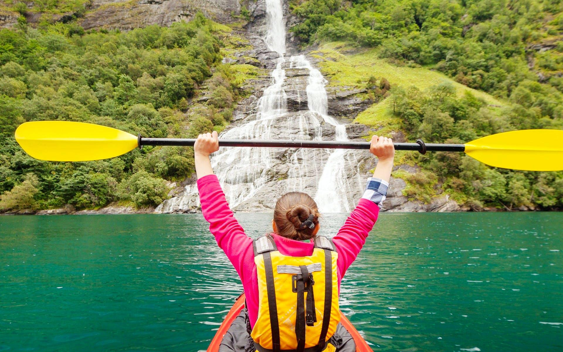 Hike & Kayak the Norwegian Fjords (Autumn)