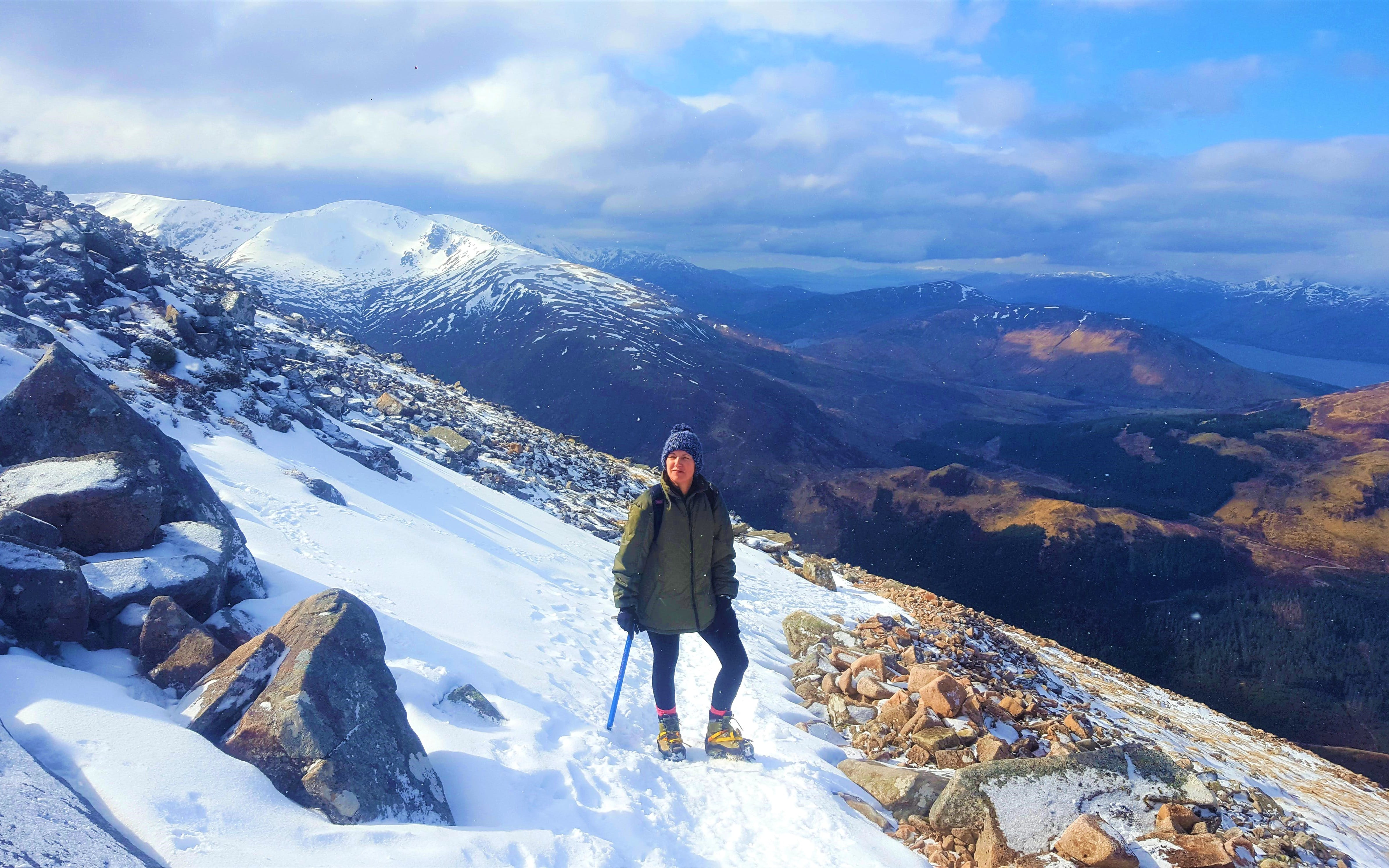 Ben Nevis Winter Ascent (1,345m)