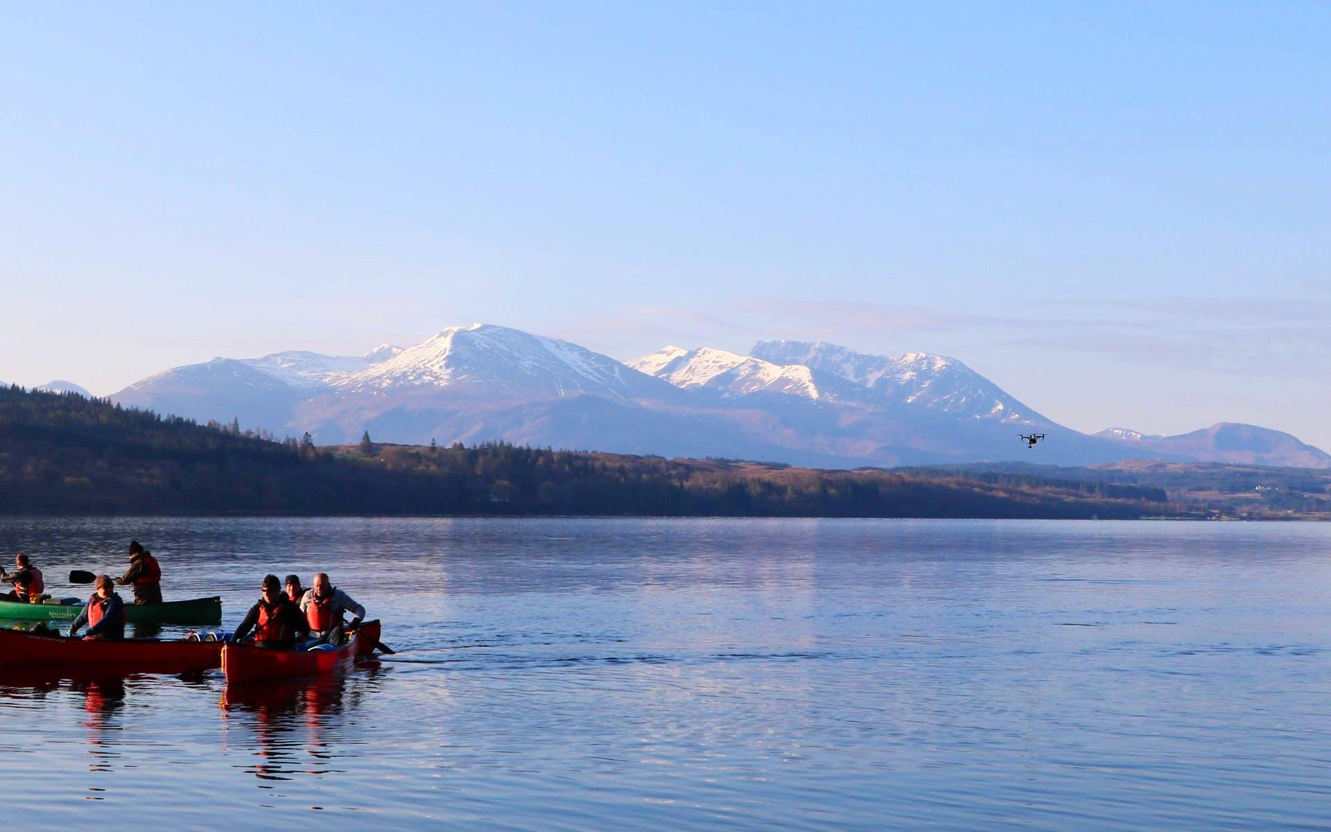 Canoe Expedition Across Scotland