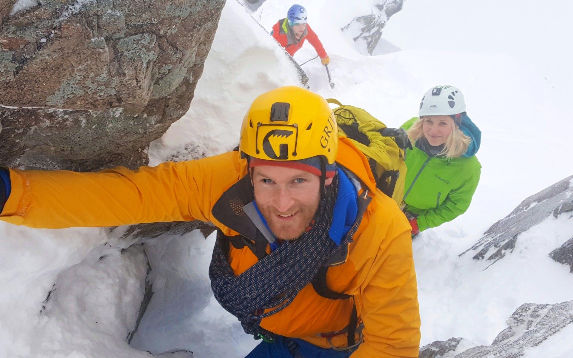 Beginners Scottish Winter Climbing