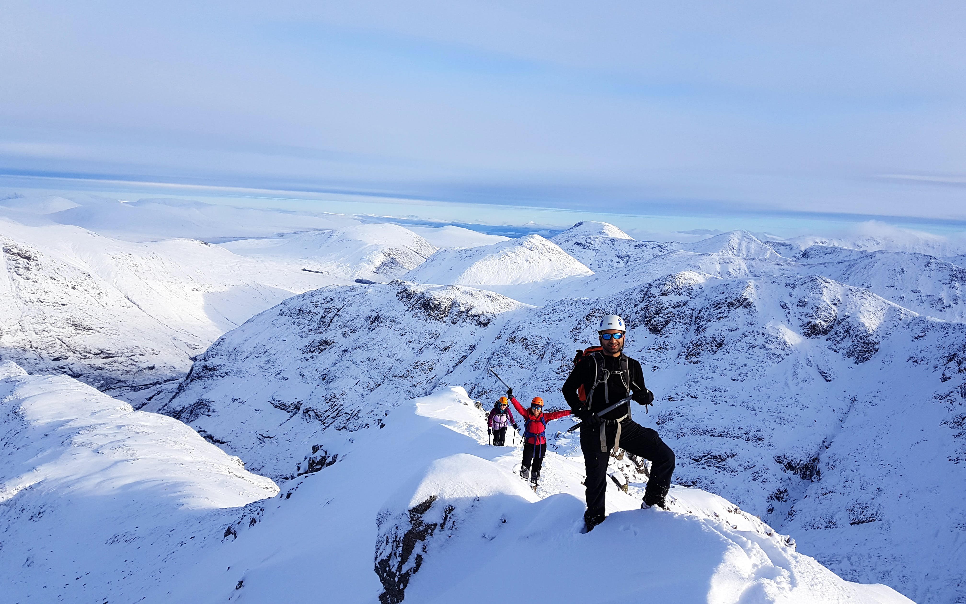 Winter Hiking Across the Cairngorms - Scotland