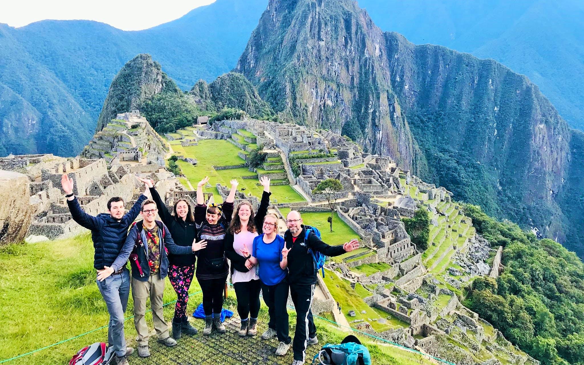 Short Inca Trail hike to Machu Picchu - 2 days